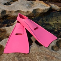 Long Blade Swim Fins - Pink