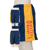 Water Safety Logo Shorts - Navy/Gold