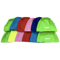 Kids Polyester Swim Caps Random Colours