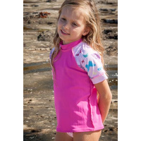 Kids Rash Vest - Happiness/Butterflies